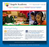 Web site for Angels Academy